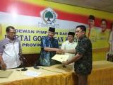 Tahapan Musda X Golkar Provinsi Buka Pendaftaran Hari Ini,Rohidin Mersyah Ambil Formulir Dan Langsung Daftar Calon Ketua