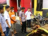 Tim Ops Wanalaga Nala POLRES Lebong Tangkap Pelaku illegal Loging